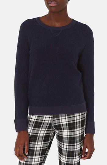 Alternate Image 1 Selected - Topshop Bouclé Sweater
