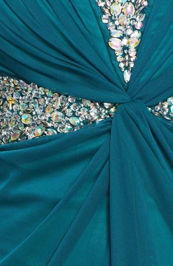 Alternate Image 3  - Secret Charm Embellished Twist Front Tube Dress (Juniors)