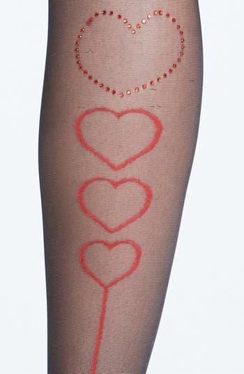 Alternate Image 3  - Pretty Polly 'Hearts Back' Tights