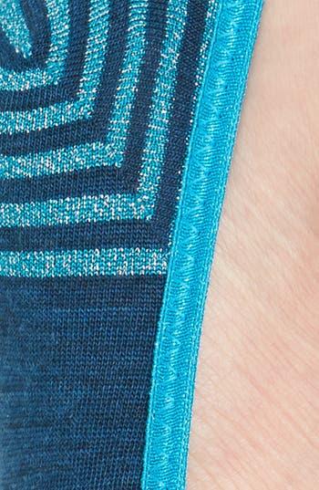 Alternate Image 2  - Smartwool Metallic Stripe Merino Wool No-Show Socks (Nordstrom Exclusive)