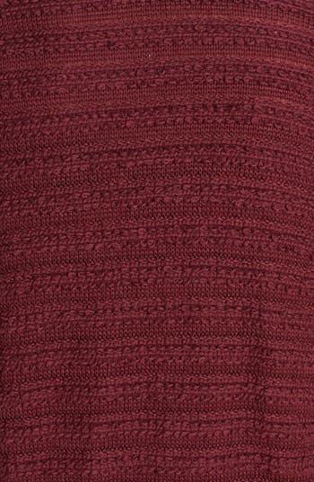 Alternate Image 4  - BP. Stripe Knit Open Cardigan (Juniors) (Online Only)