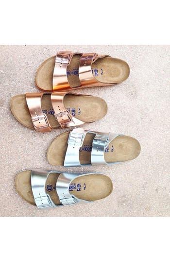 Alternate Image 2  - Birkenstock 'Arizona' Soft Footbed Leather Sandal (Women)