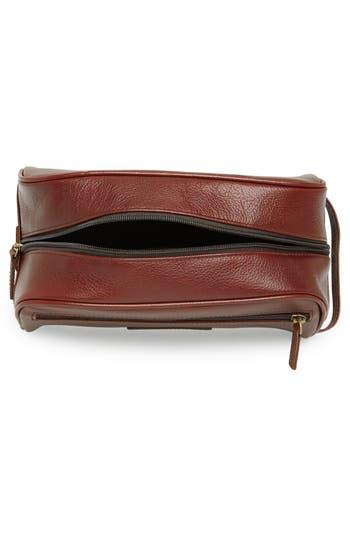 Alternate Image 2  - Barbour Leather Travel Kit