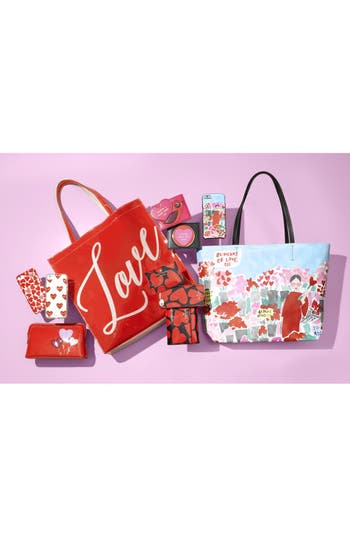Alternate Image 5  - Ted Baker London Heart Cosmetics Bag