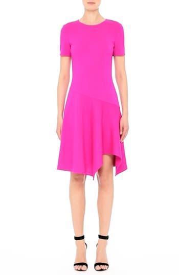 Milano Knit Asymmetrical Dress, video thumbnail