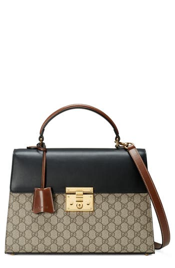 Gucci Medium Padlock Top Handl..