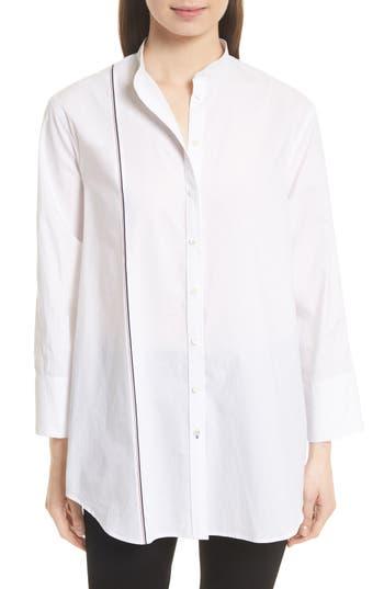 JOSEPH Lenno Selvedge Stripe Shirt