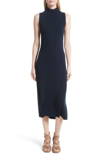rag & bone Ace Cashmere Mock Neck Sweater Dress