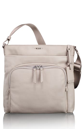 Tumi Voyageur - Capri Leather Crossbody Bag