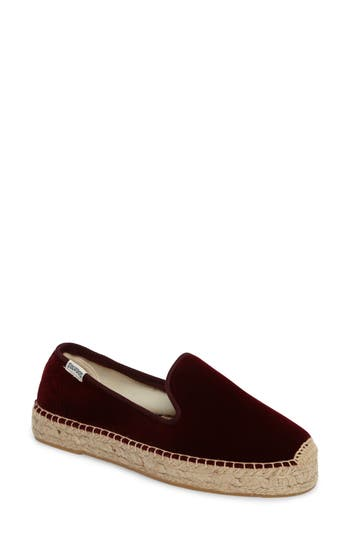 Soludos Velvet Smoking Slipper..