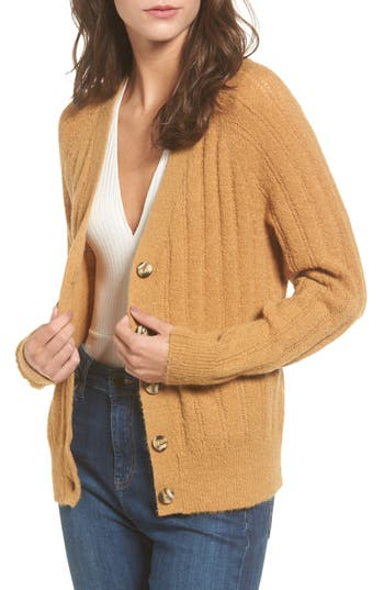 BP. Rib Knit Grandpa Cardigan