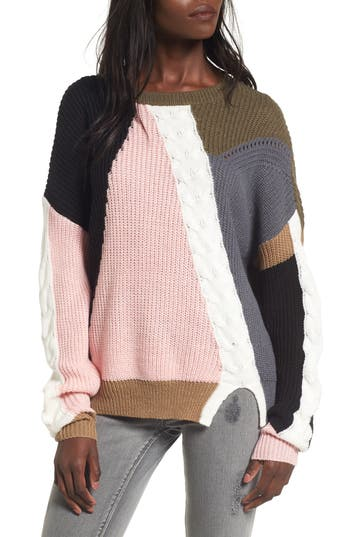 BP. Color Splice Sweater