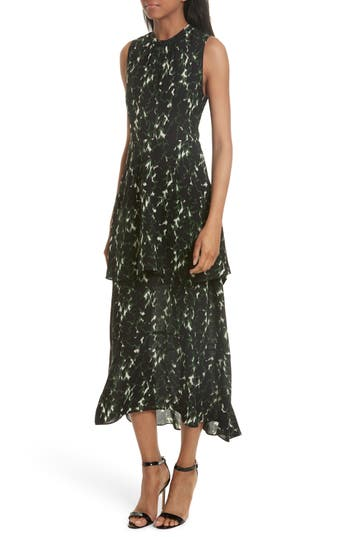A.L.C. Wylon Print Silk Dress