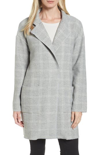 Eileen Fisher Check Tweed ..