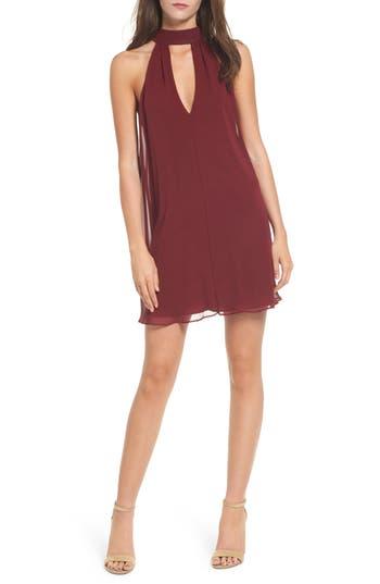 Soprano Lace-Up Swing Dress