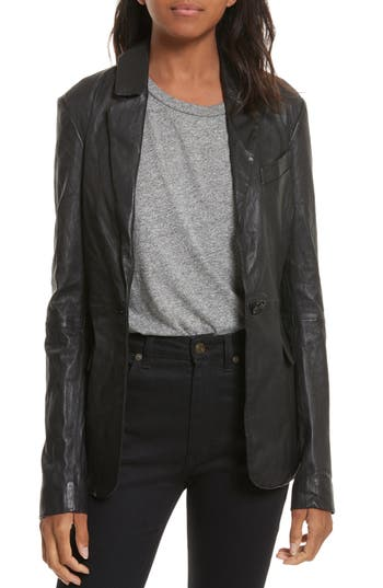 Tracy Reese Leather Jacket