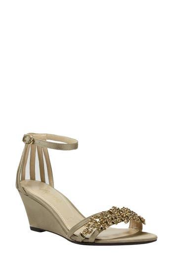 J. Rene? Mariabelle Ankle Strap Sandal (Women)