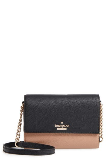 kate spade new york jackson street - iva leather crossbody bag