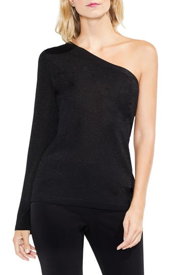 Vince Camuto One-Shoulder Bell Sleeve Sweater