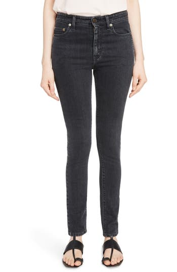 Saint Laurent Skinny Stretch Jeans