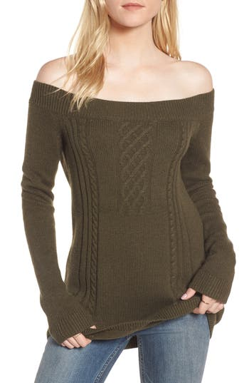 Treasure & Bond Off the Shoulder Sweater