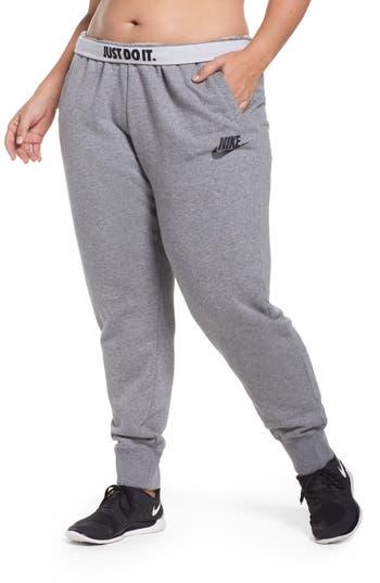 Nike Drawstring Fleece Pants (Plus Size)