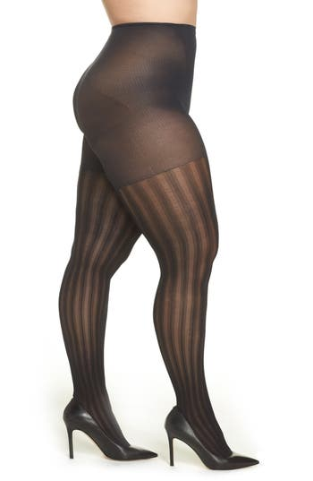Berkshire Vertical Stripe Tights (Plus Size) (2 for $26)
