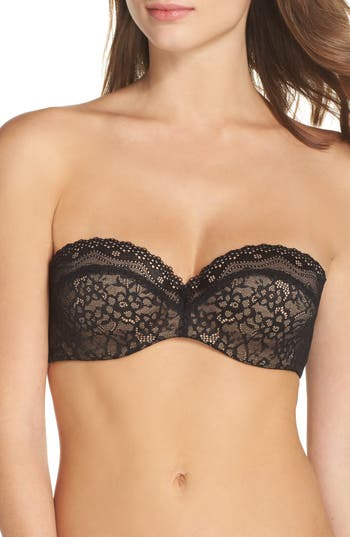 b.tempt'd by Wacoal B. Enticing Strapless Underwire Bra