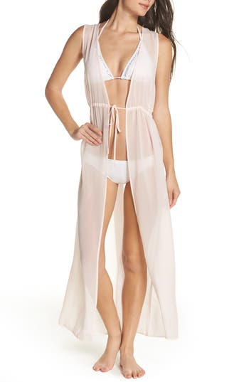 Leith Sheer Cover-Up Maxi