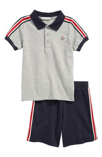 06ac549df Moschino Kids Logo Tape Polo Shirt And Shorts Set Farfetch | 2019 ...