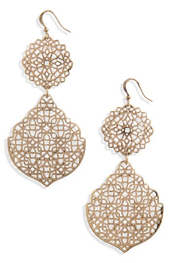 Medallion Earrings by Bp.