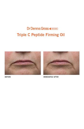 Alternate Image 2  - Dr. Dennis Gross Skincare Triple C Peptide Firming Oil