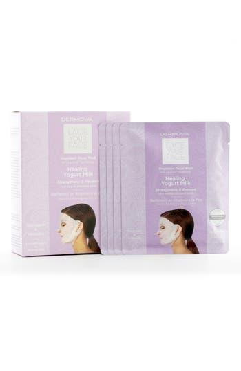 Alternate Image 2  - Dermovia Lace Your Face Healing Yogurt Compression Facial Mask