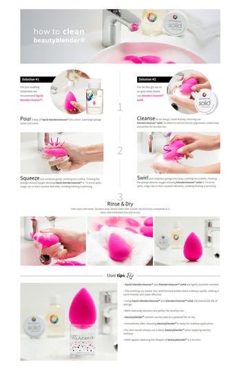 Alternate Image 4  - beautyblender® Makeup Sponge Applicator Duo & Cleanser ($58 Value)