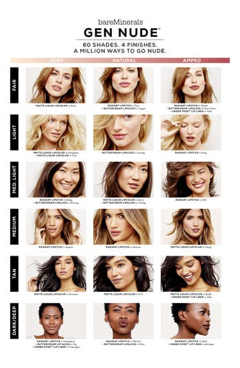 Alternate Image 3  - bareMinerals® Gen Nude™ Buttercream Lipgloss