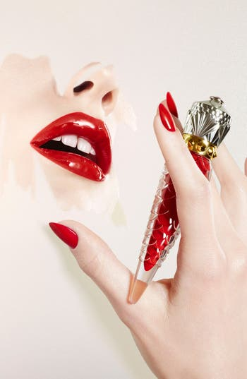 Alternate Image 6  - Christian Louboutin 'Loubilaque' Lip Lacquer