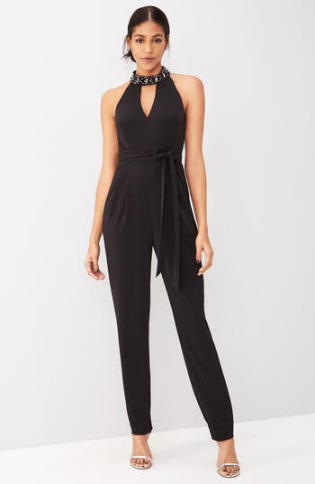 Main Image - Vince Camuto Jumpsuit Outfit with Accessories