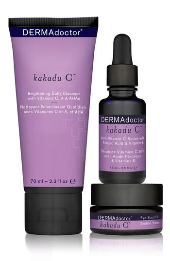 Alternate Image 2  - DERMAdoctor® kakadu C™ Vitamin C Brightening Kit (Limited Edition) ($129 Value)