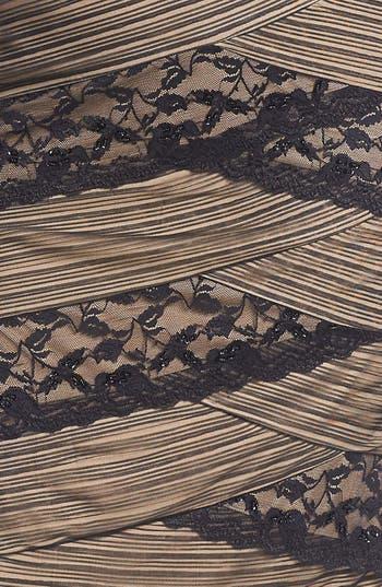 Alternate Image 3  - MARINA Mixed Lace Sheath Dress (Plus Size)