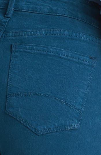 Alternate Image 3  - NYDJ 'Marilyn' Colored Stretch Straight Leg Jeans