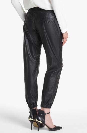 Alternate Image 2  - Piper Faux Leather Track Pants