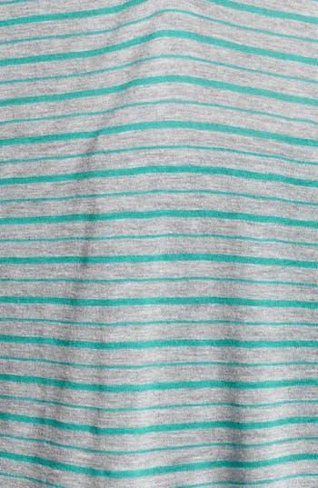 Alternate Image 3  - Sejour Stripe Henley Top (Plus Size)