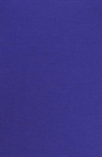 Alternate Image 3  - Soprano Illusion Yoke Peplum Top (Juniors Plus)