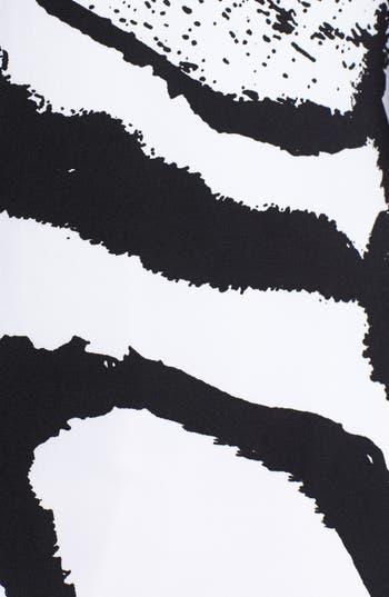 Alternate Image 3  - Eva Varro Three Quarter Sleeve Print Knit Dress