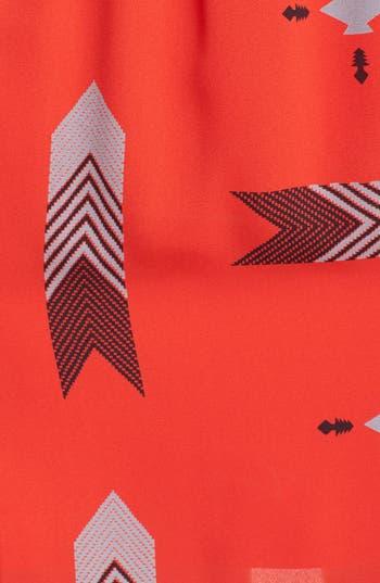 Alternate Image 3  - BB Dakota 'Audrey' Print Flutter Sleeve Dress