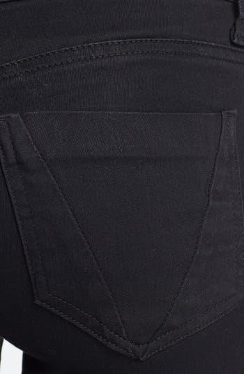 Alternate Image 3  - STS Blue Skinny Jeans (Black) (Juniors)