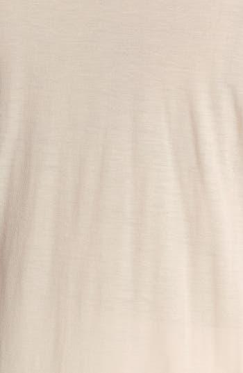 Alternate Image 3  - Kische Lace Front High/Low Top (Plus Size)