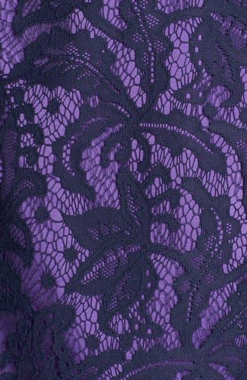 Alternate Image 3  - Adrianna Papell Lace Partial Peplum Sheath Dress