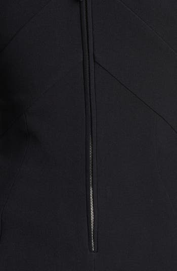 Alternate Image 3  - Burberry Prorsum Chevron Detail Tailored Dress