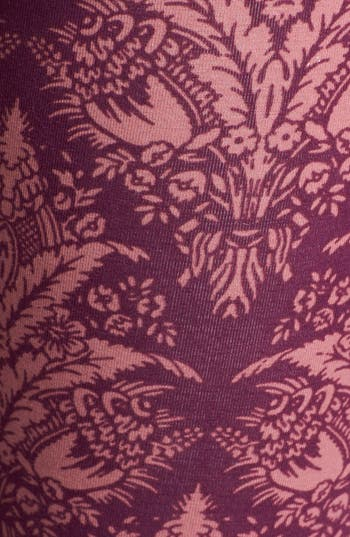 Alternate Image 3  - Threads for Thought Damask Print High Waist Leggings (Juniors)